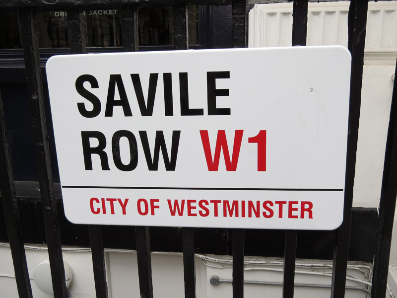 Savile Row London Bespoke Tailoring
