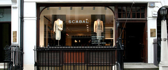 Meet Scabal at Savile Row