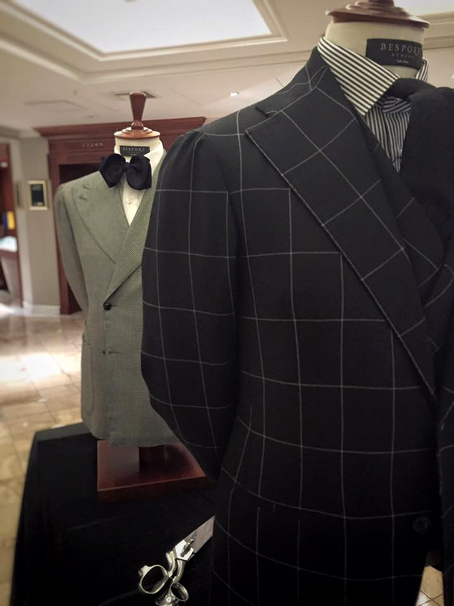 Italian handmade men's suits by Sciamat