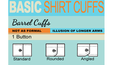 Basic shirt cuffs - how to choose