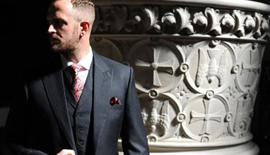 Bespoke suits by Souster and Hicks