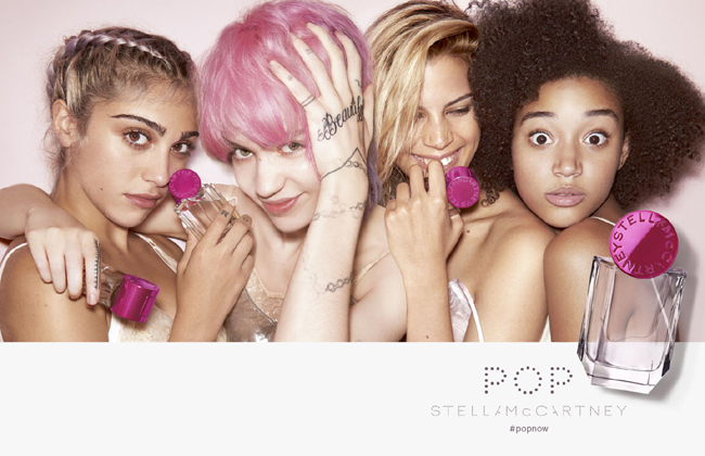 Stella McCartney's new fragrance - Pop