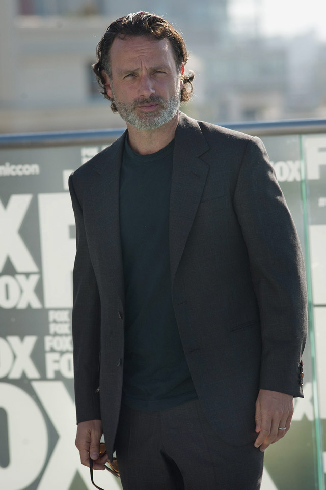 English actor Andrew Lincoln is among the nominees for Most Stylish Men 2016