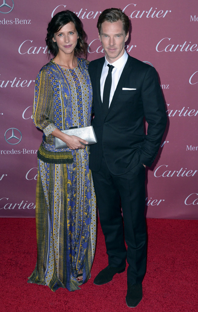 Benedict Cumberbatch - the most stylish Sherlock Holmes