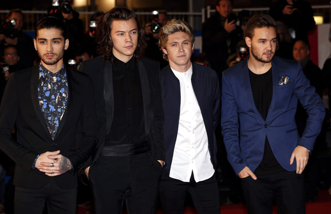 Celebrities' style: Harry Styles from British boy band One Direction