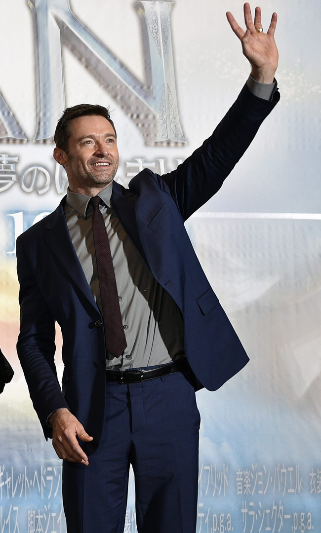 Hugh Jackman - the stylish version of Wolverine