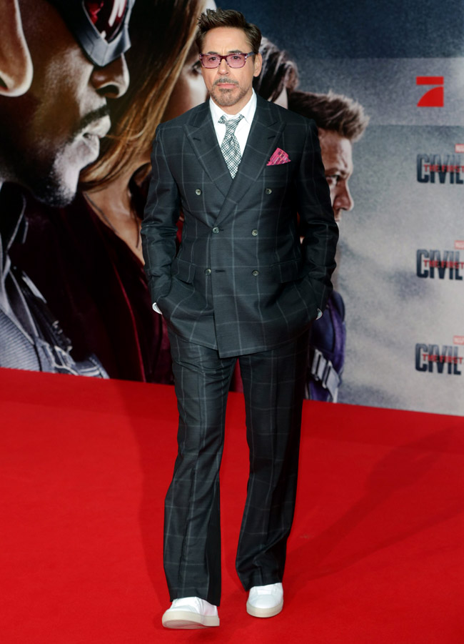 Robert Downey Jr - Iron style by Iron Man