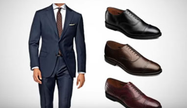 How To Match Shoes With A Suit