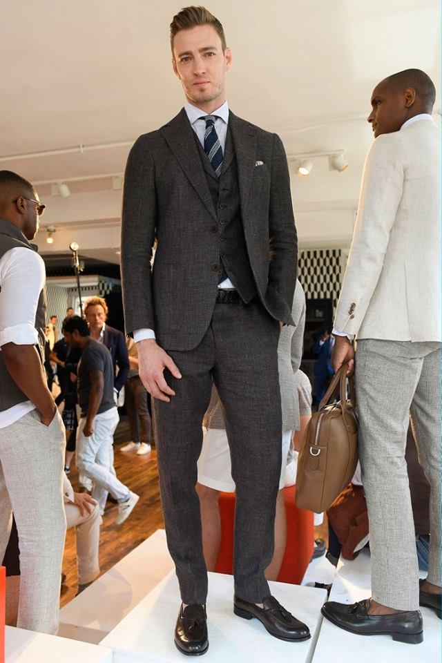 Suitsupply Spring-Summer 2017 men's suits collection