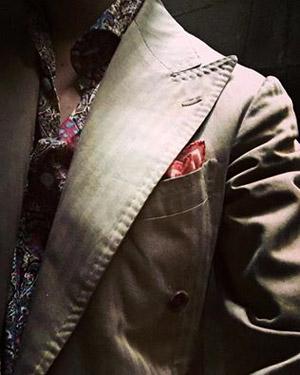 The Summer men's suit