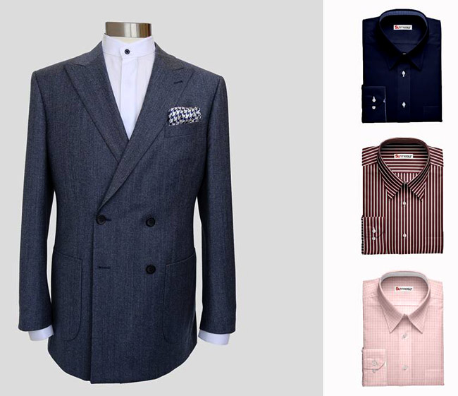 Made-to-measure suits and shirts for men by Surmesur