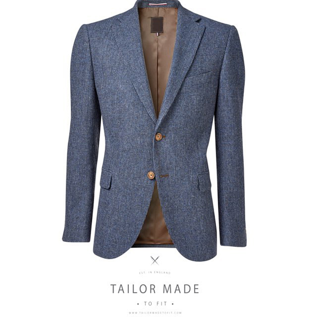 Tailor Made to Fit - English made-to-measure suits
