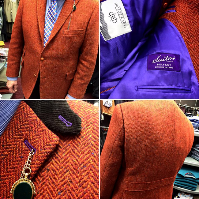Made-to-measure Tailoring and Custom Wedding Attire by The Belfast Tailor