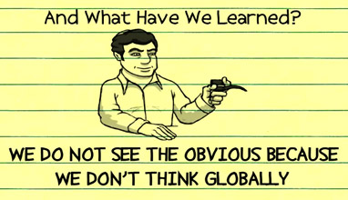 Goldratt Lectures: Why you should think globally