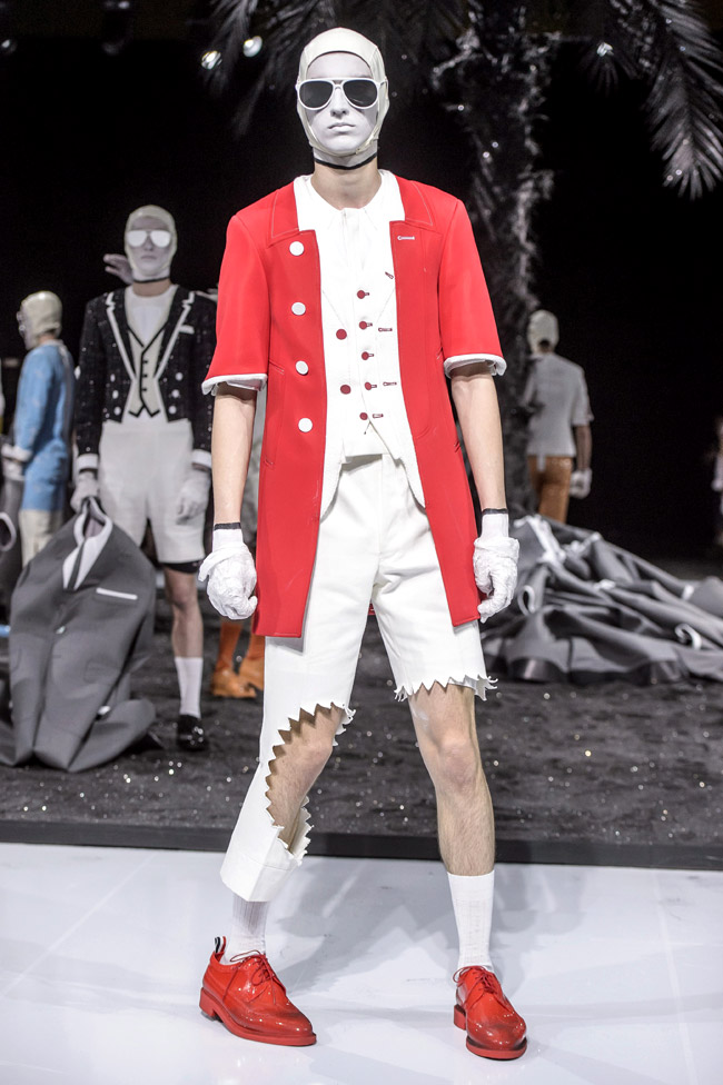 Paris Fashion Week: Thom Browne Spring-Summer 2017 collection