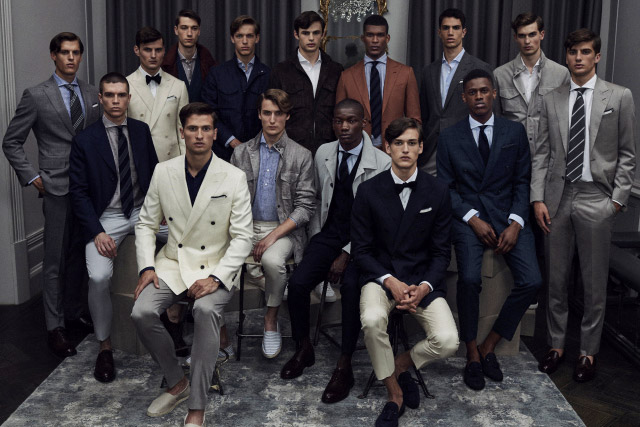 Thom Sweeney Spring-Summer 2017 men's collection