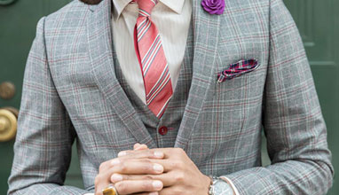 Custom made suits by Thomas Henry