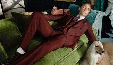 Tom Hiddleston is the new face of Gucci