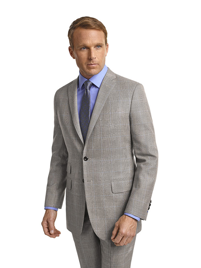 Bespoke suits by Tom James