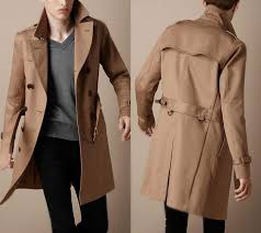 Classic trench-coat or about the officer in a gentleman