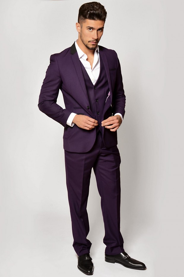 Men's suits 2016 fashion trends: Colorful suits