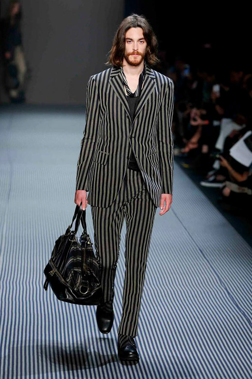 Men's suits 2016 fashion trends: Striped suits