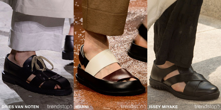 Spring-Summer 2017 Men's fashion trends: Footwear