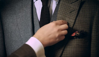 3 types of lapels in the men's suit