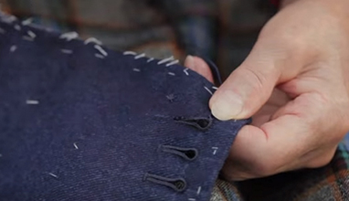 Tailor's tips by Vitale Barberis Canonico: Buttonholes and Buttons