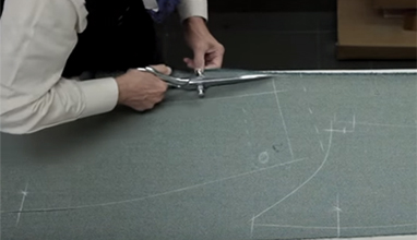 Tailor's tips by Vitale Barberis Canonico: Cutting