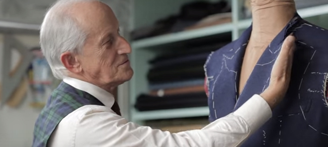 Tailor's tips by Vitale Barberis Canonico: Lapels