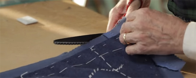 Tailor's tips by Vitale Barberis Canonico: Preparation for cutting