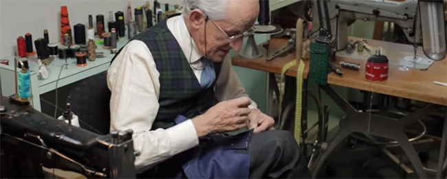 Tailor's tips by Vitale Barberis Canonico: Sleeves