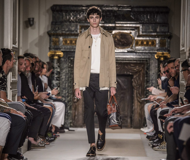Paris Fashion Week Valentino Spring Summer 2017 Men 39 S Collection