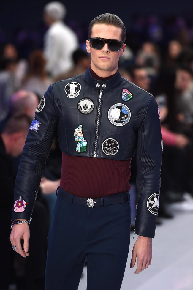 Milan Men S Fashion Week Versace Fall Winter 2017 Collection