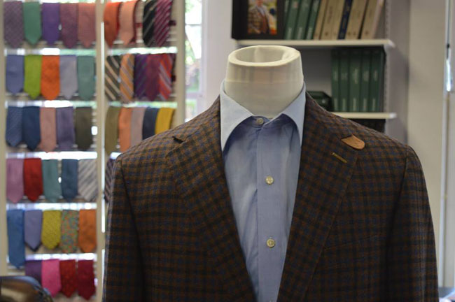 Custom suits by William T Clothiers