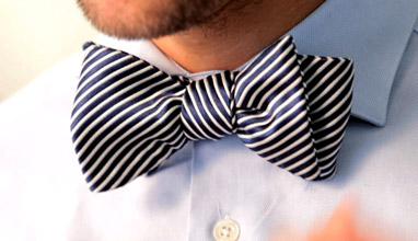 Bow ties - another lovely anachronism
