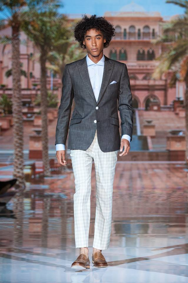 Zane Barl?s Spring-Summer 2017 collection at Toronto Men's Fashion Week