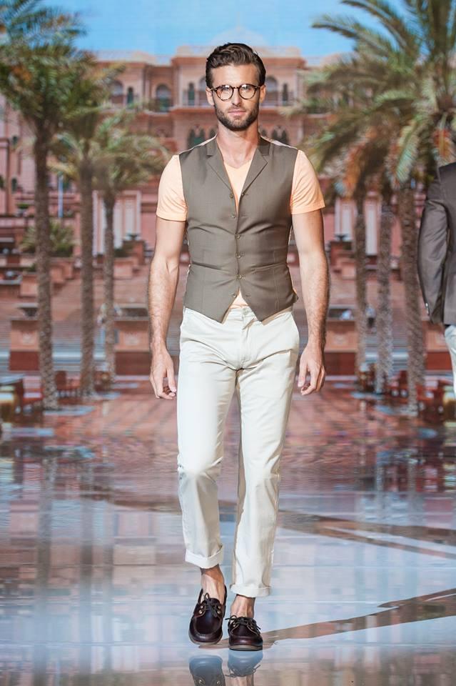 Zane Barl?s Spring-Summer 2017 collection at Toronto Men's Fashion Week