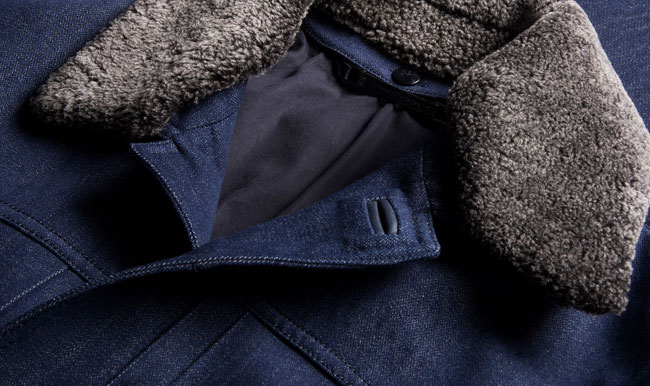 Trofeo Wool Denim by Ermenegildo Zegna