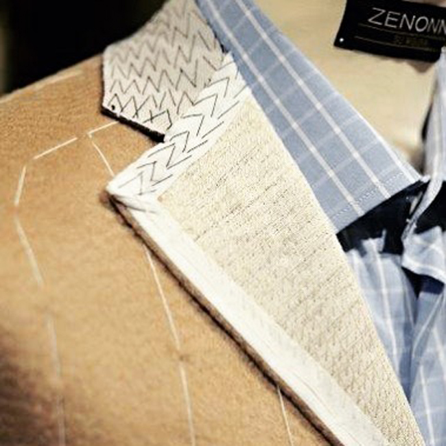 Romanian tailor-made suits by Zenonni Su Misura