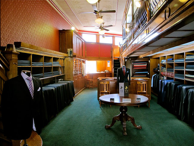 Bespoke suits and shirts by Zink and Sons Tailors