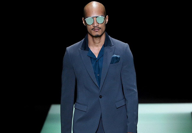 Which is the most popular colour in men's fashion for Spring/Summer 2016