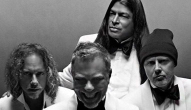 Rock band Metallica are the stars of Brioni's first advertising campaign with Justin O'Shea