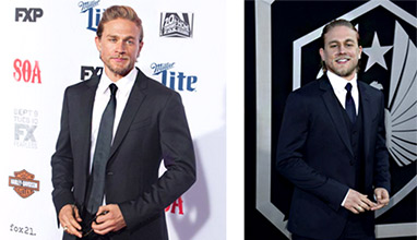 Charlie Hunnam is Most Stylish Man April 2016