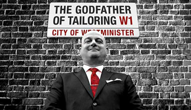 The Visiting Tailor from Godfather Tailoring, London - Ray Peck