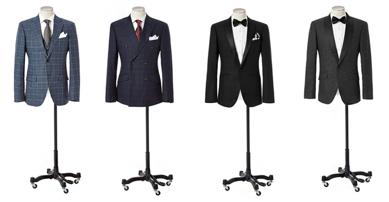 BRENTWILSON Made To Order Suits