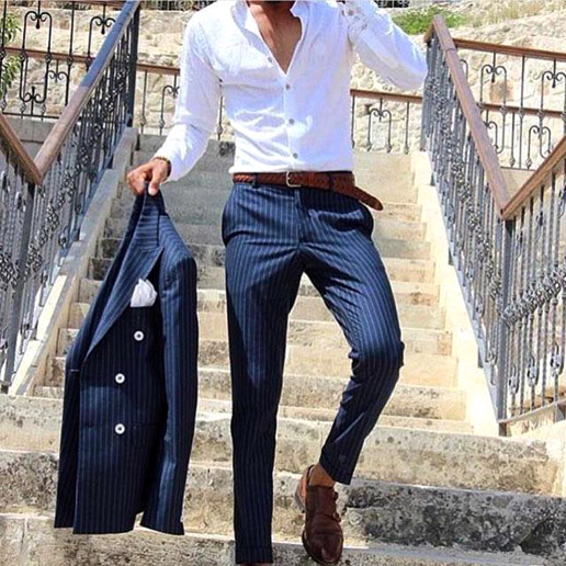 More about the cut of men's trousers
