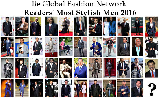 Choose Most Stylish Men 2016 - Most Stylish Real Men vs Celebrities