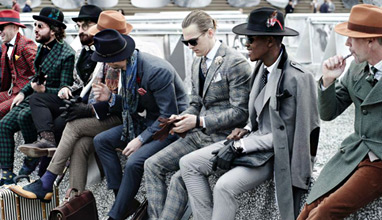The most stylish men at Pitti Uomo 89